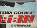 MISSION IMPOSSIBLE III (Top Right) Cinema Quad Movie Poster