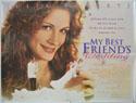 MY BEST FRIEND'S WEDDING Cinema Quad Movie Poster