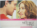 THE NEXT BEST THING Cinema Quad Movie Poster