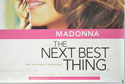 THE NEXT BEST THING (Bottom Right) Cinema Quad Movie Poster