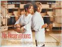NO RESERVATIONS Cinema Quad Movie Poster