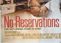 NO RESERVATIONS (Bottom Left) Cinema Quad Movie Poster