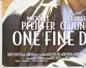 ONE FINE DAY (Bottom Left) Cinema Quad Movie Poster