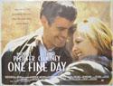 ONE FINE DAY Cinema Quad Movie Poster