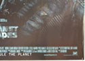 PLANET OF THE APES (Bottom Right) Cinema Quad Movie Poster
