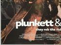 PLUNKETT AND MACLEANE (Bottom Left) Cinema Quad Movie Poster
