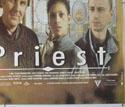 PRIEST (Bottom Right) Cinema Quad Movie Poster