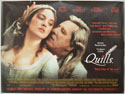 QUILLS Cinema Quad Movie Poster