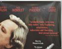 QUILLS (Top Right) Cinema Quad Movie Poster