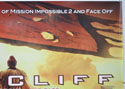 RED CLIFF (Top Right) Cinema Quad Movie Poster