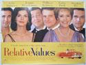 RELATIVE VALUES Cinema Quad Movie Poster