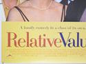 RELATIVE VALUES (Bottom Left) Cinema Quad Movie Poster