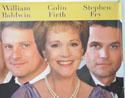 RELATIVE VALUES (Top Right) Cinema Quad Movie Poster