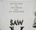 SAW V (Top Left) Cinema Quad Movie Poster