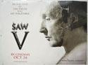 SAW V Cinema Quad Movie Poster