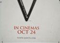 SAW V (Bottom Left) Cinema Quad Movie Poster