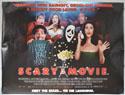 SCARY MOVIE Cinema Quad Movie Poster