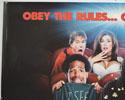 SCARY MOVIE (Top Left) Cinema Quad Movie Poster