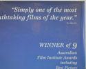 SHINE (Top Right) Cinema Quad Movie Poster