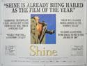 SHINE Cinema Quad Movie Poster