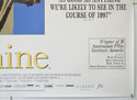 SHINE (Bottom Right) Cinema Quad Movie Poster
