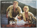 SIX DAYS SEVEN NIGHTS Cinema Quad Movie Poster