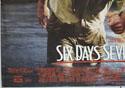 SIX DAYS SEVEN NIGHTS (Bottom Left) Cinema Quad Movie Poster