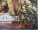 SIX DAYS SEVEN NIGHTS (Bottom Right) Cinema Quad Movie Poster