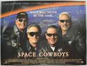 SPACE COWBOYS Cinema Quad Movie Poster