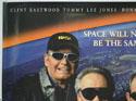 SPACE COWBOYS (Top Left) Cinema Quad Movie Poster