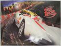 SPEED RACER Cinema Quad Movie Poster