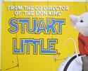 STUART LITTLE (Top Left) Cinema Quad Movie Poster