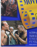 TALKING PAGES 1995 ADVERTISING POSTER (Bottom Left) Cinema Double Crown Movie Poster