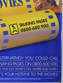 TALKING PAGES 1995 ADVERTISING POSTER (Bottom Right) Cinema Double Crown Movie Poster