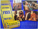 TALKING PAGES 1995 ADVERTISING POSTER Cinema Quad Movie Poster