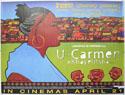 U-CARMEN EKHAYELITSHA Cinema Quad Movie Poster