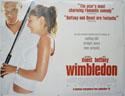 WIMBLEDON Cinema Quad Movie Poster