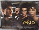 THE YARDS Cinema Quad Movie Poster