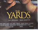 THE YARDS (Bottom Right) Cinema Quad Movie Poster