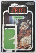 STAR WARS FIGURE –   CHIEF CHIRPA (CARD FRONT View)