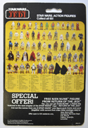 STAR WARS FIGURE – GENERAL MADINE (CARD BACK View)