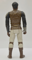 STAR WARS FIGURE –   LANDO CALRISSIAN (SKIFF GUARD DISGUISE) (BACK View)