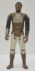 STAR WARS FIGURE –   LANDO CALRISSIAN (SKIFF GUARD DISGUISE) (FRONT View)