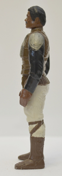 STAR WARS FIGURE –   LANDO CALRISSIAN (SKIFF GUARD DISGUISE) (LEFT SIDE View)
