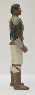 STAR WARS FIGURE –   LANDO CALRISSIAN (SKIFF GUARD DISGUISE) (RIGHT SIDE View)