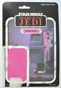 STAR WARS FIGURE – POWER DROID (CARD FRONT View)