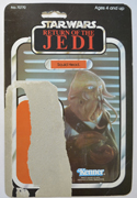 STAR WARS FIGURE – SQUID HEAD (CARD FRONT View)