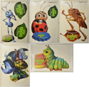 A Bug's Life <p><i> (Set of Cinema Window Clings) </i></p>