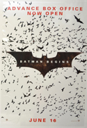 Batman Begins <p><i> (Cinema Window Clings) </i></p>