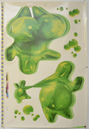 FLUBBER Cinema Window Cling Poster (B)